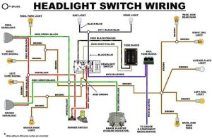 EB headlight switch wiring diagram | Early Bronco Build List | Pinterest | Early bronco