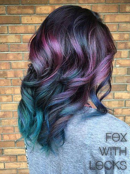 Best 20 Oil Slick Hair Ideas On Pinterest
