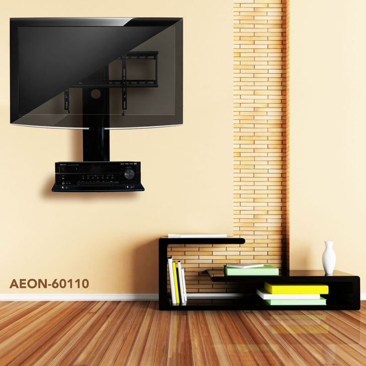 1000 images about tv wall mount with shelf and tv stand on tv wall mounts id=53053