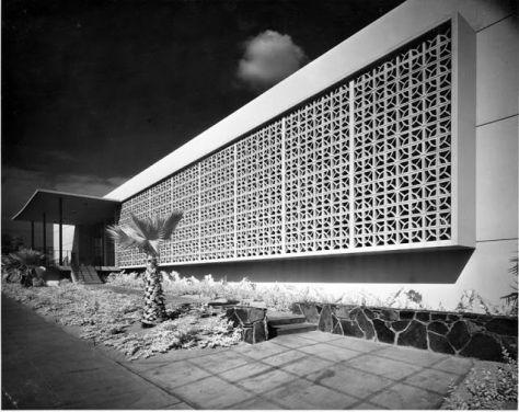 Whittier Public Library, Whittier, California, William Harrison, 1959.
