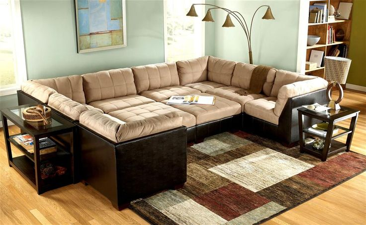 10 Piece Modular Pit Group Sectional Couch Ashley