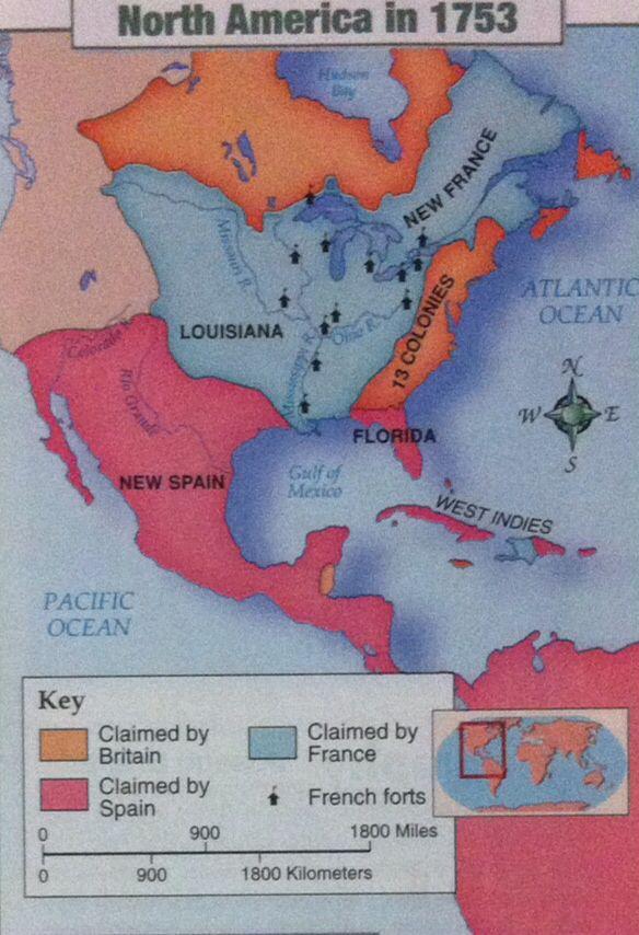 And 13 Spain Colonies Colonies Map