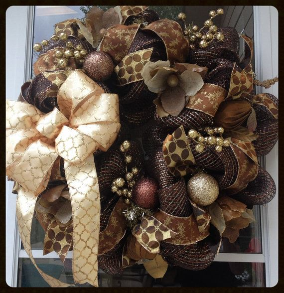 1000 Ideas About Brown Christmas Decorations On Pinterest
