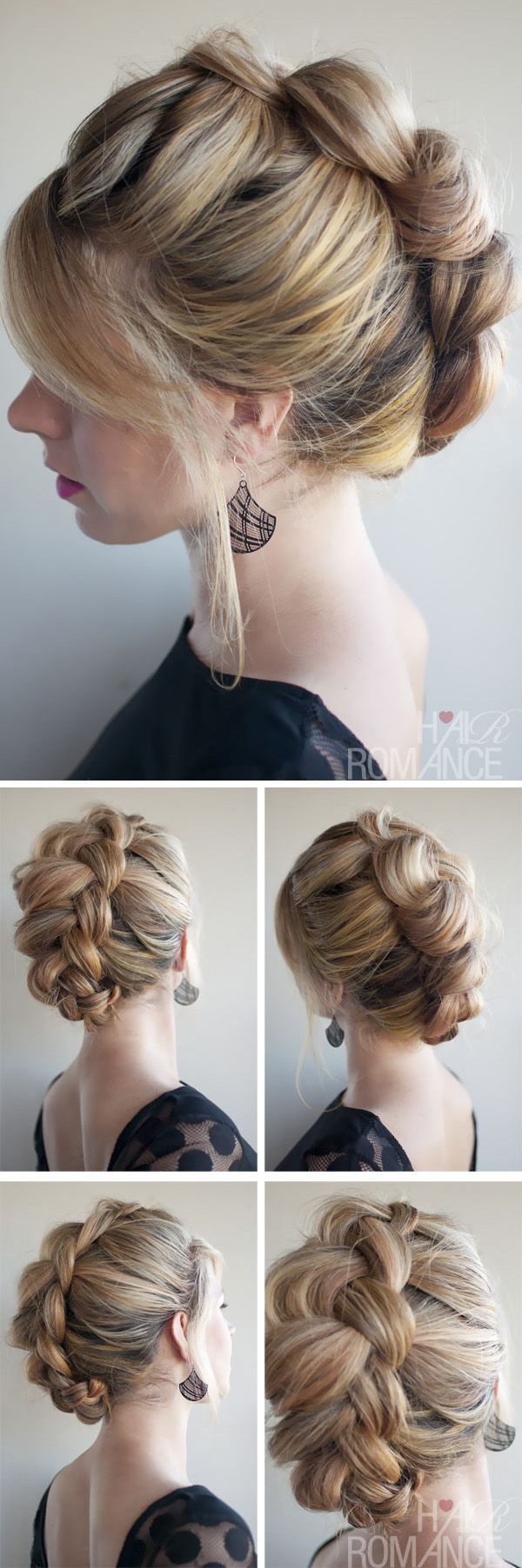 148 Best Images About Updo Hairstyles For Long Hair On