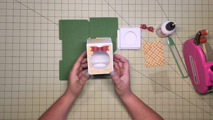 Cricut Design Space Ornament Box How To Assemble