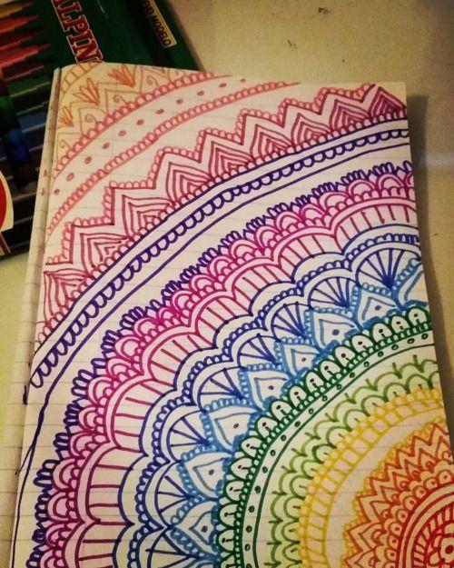 easy zentangle patterns color - Căutare Google   Art ...