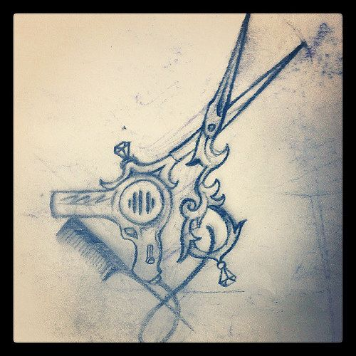 victorian shears tattoo – Google Search