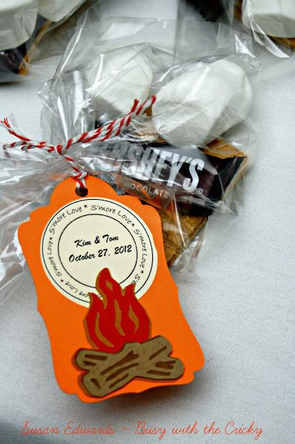 Busy with the Cricky – Fall Wedding Favors