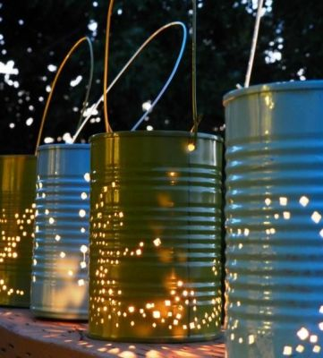 Fun Summer Nights Call for Tin Can Lanterns | Fox News Magazine: