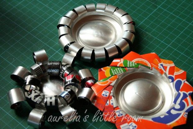 #DIY soda can candle holders – #Upcycle This! 21 Things Made from Soda Cans