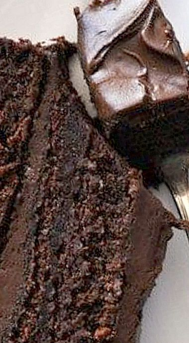 Wellesley Fudge Cake – once you get a taste of the thick fudgy frosting, keeping it a secret just might cr
