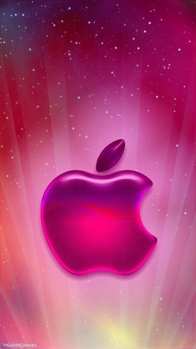 Glittery Apple Backgrounds
