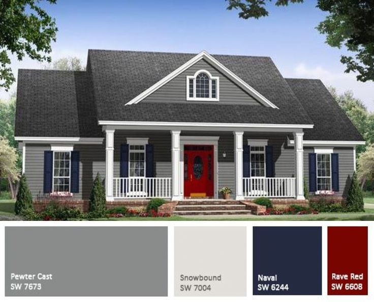 Country Home Exterior Painting Ideas