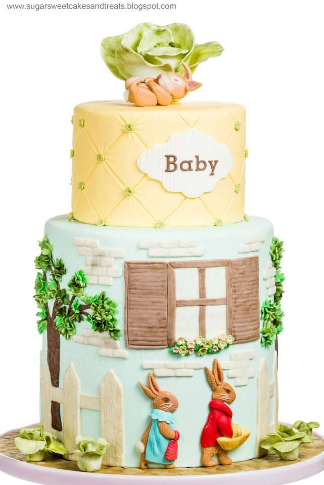1000 Images About Beatrix Potter Cakes On Pinterest
