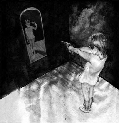 """They told her: """"Destroy what destroys you"""". She decided to kill herself."""