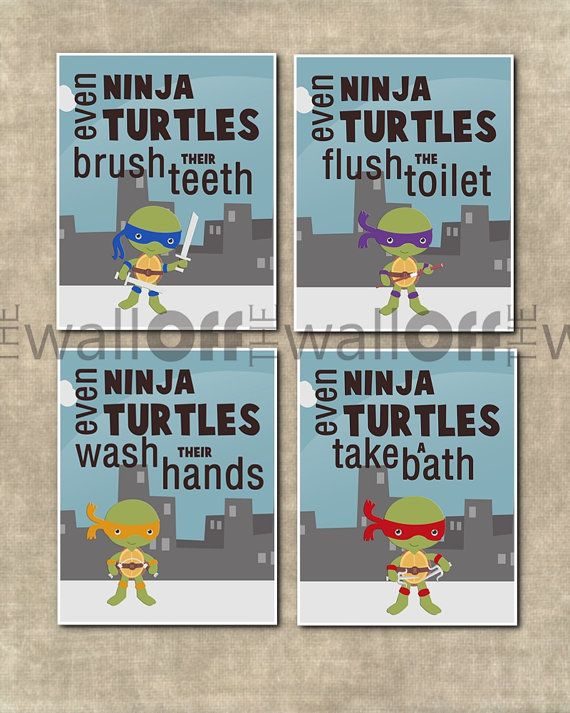 ninja turtle bathroom - home decor - xshare