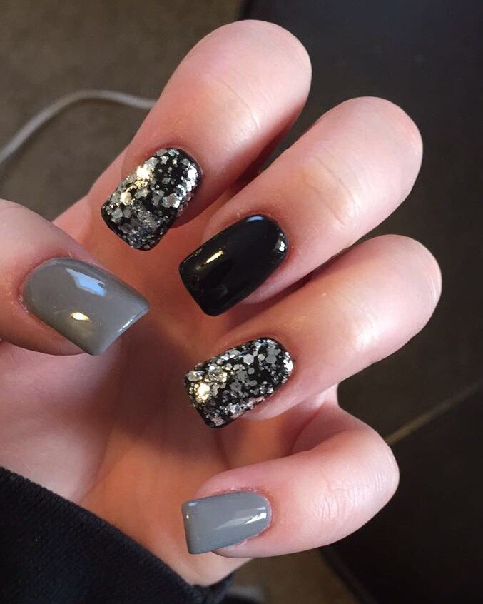 17 Best Ideas About Gray Nails On Pinterest What Are