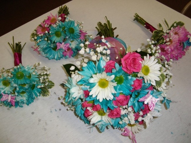 17 Best Images About Teal And Fuchsia Wedding Theme On