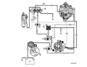 Volvo Penta Alternator Wiring Diagram | yate | Pinterest