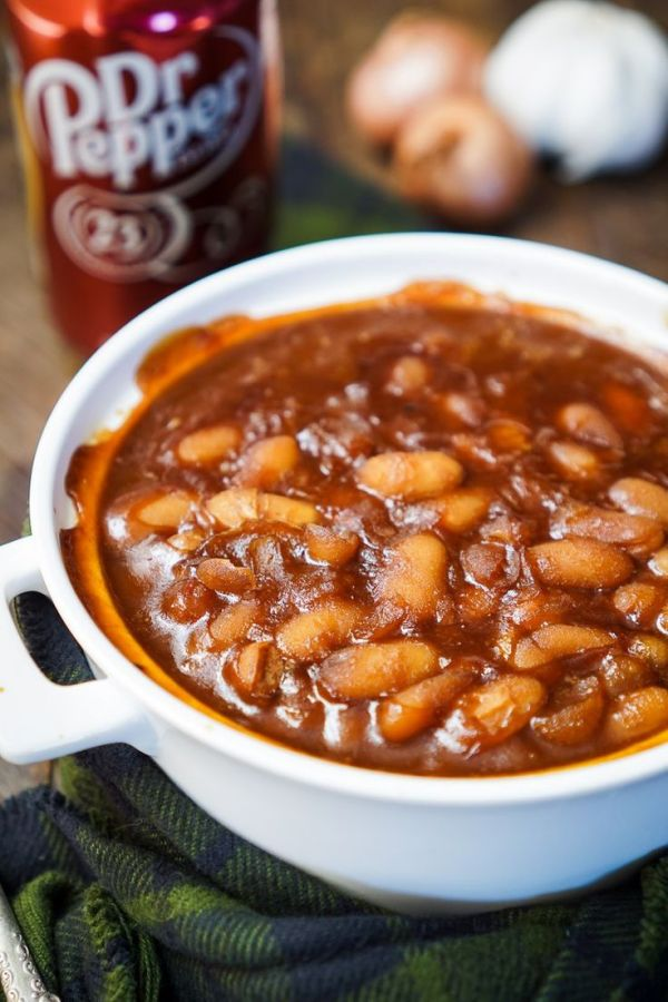 These Dr Pepper Baked Beans are sweet and delicious and ...