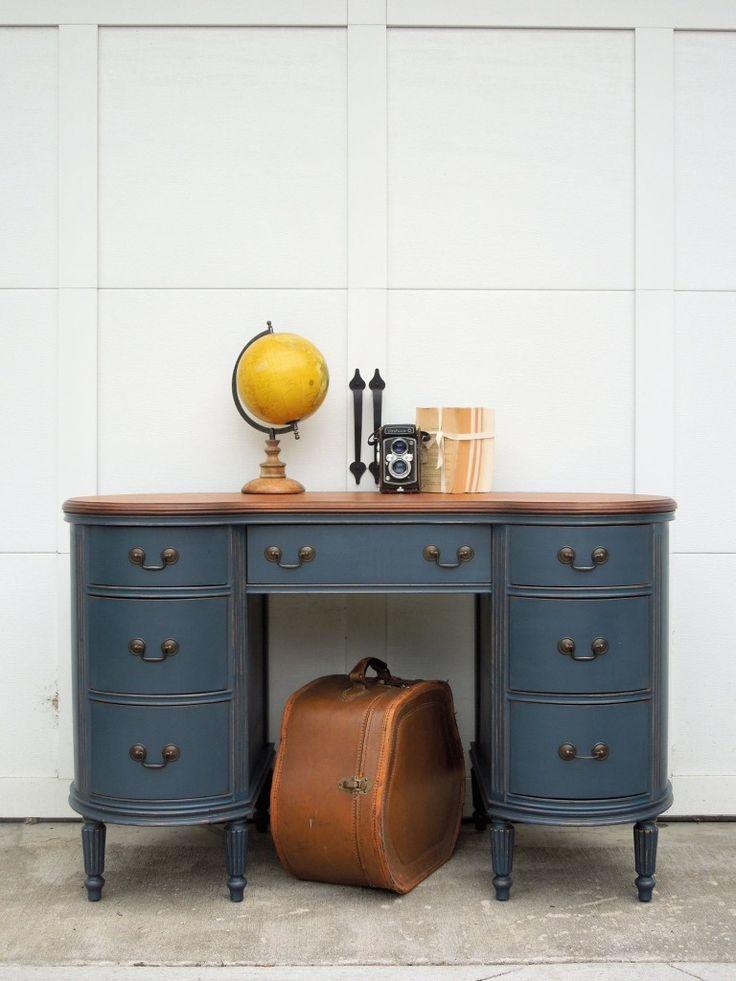 253 best images about painted desks on pinterest on desk color ideas id=34035