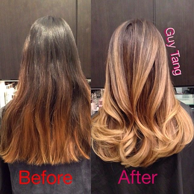 I Fixed My Clients Brassy Orange Ombr She Had Elsewhere