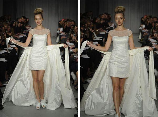 Convertible 2 In 1 Wedding Dress