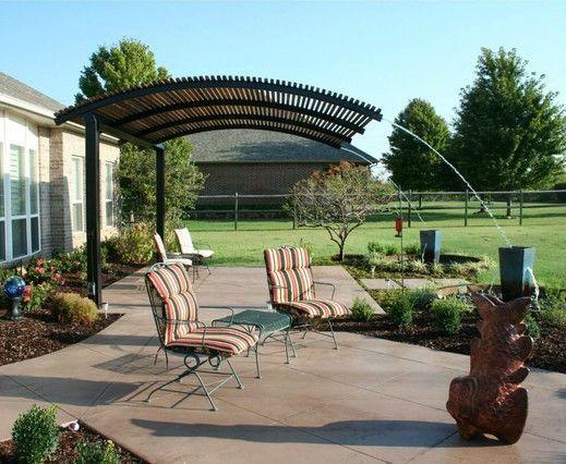 cantilevered pergola steel shade pergolas outdoor on Steel Pergola Ideas id=16877