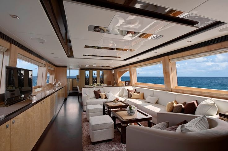 Private Mega Luxury Yachts Interiors Horizon E84 Luxury