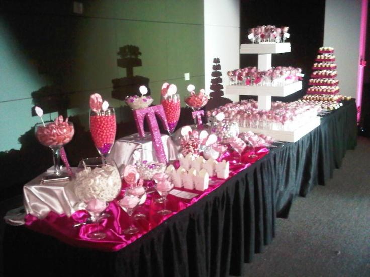Sweet Sixteen Cake Pops Candy Buffet Candy Bar Cake