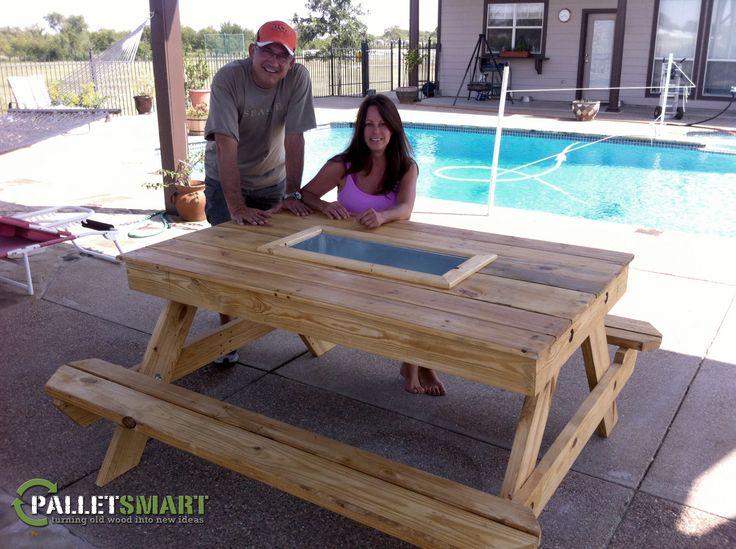 Wood Coffee Table Long
