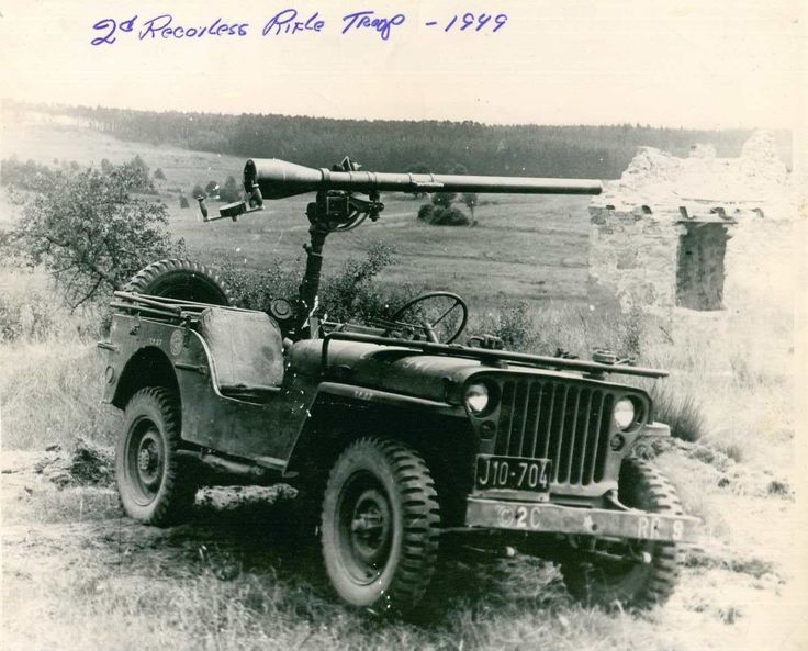 M38 Jeep Recoiless Rifle