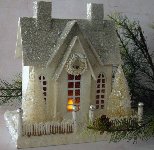 17 Best Images About Crafts Putz Amp Glitter Houses On