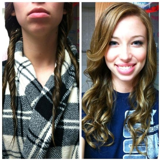 17 Best Images About Heatless Curls On Pinterest Rope