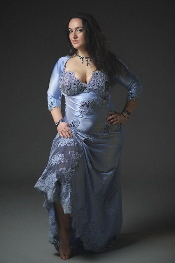 Natalia Fedorova by ilyafedorov Blue Belly Dance