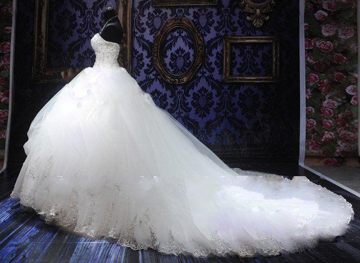 Big Poofy Wedding Dresses
