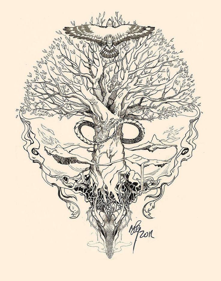 Die 25 Besten Ideen Zu Keltischer Lebensbaum Auf