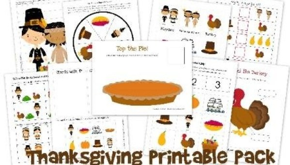 Free Thanksgiving Printable Pack: