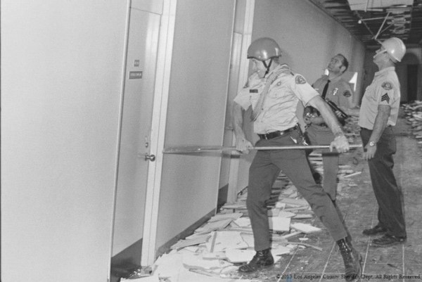 Feb. 9, 1971. Aftermath of Sylmar Earthquake. LASD ...