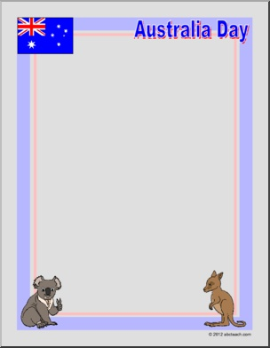 Australia Day Printable Worksheets And Activities For