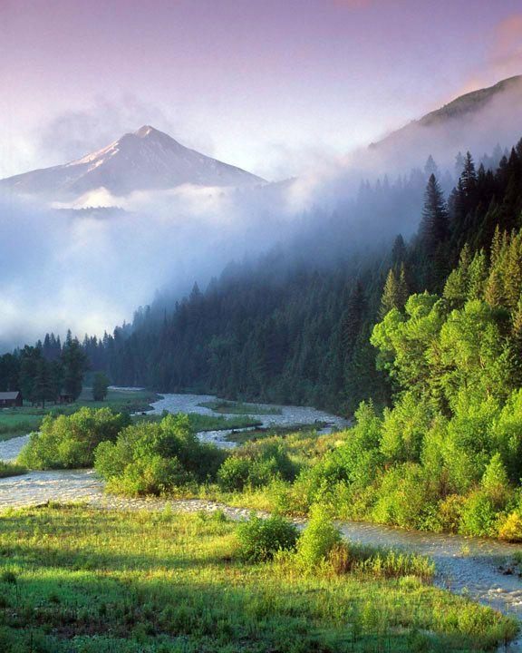 Mountain Photography Landscape Photo Spring Photo Morning