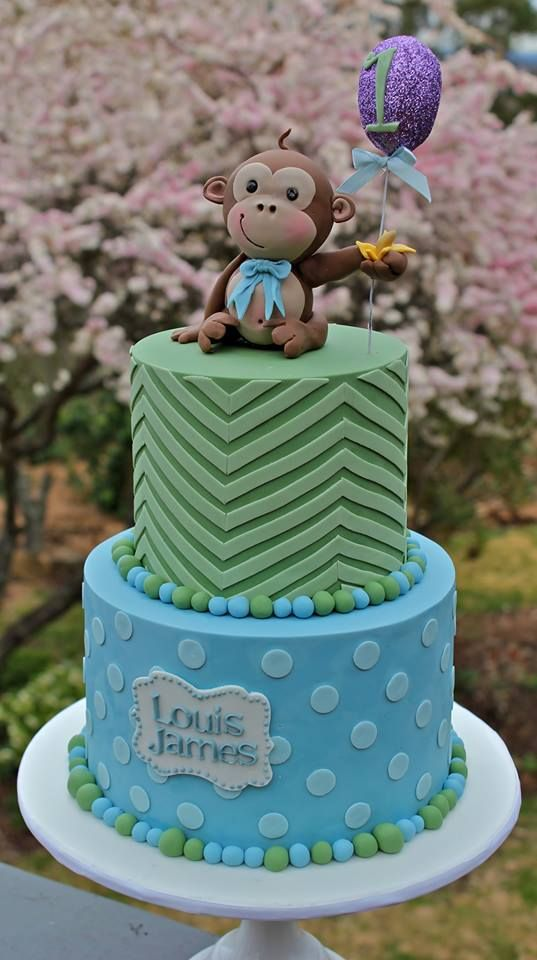 17 Best Images About Monkey Cakes On Pinterest 1st