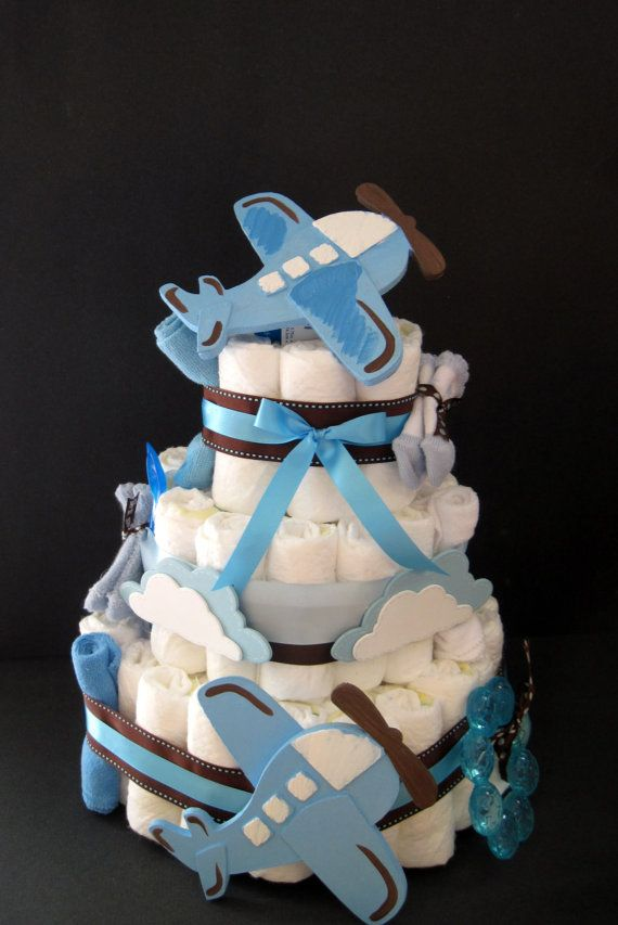 Best 25 Airplane Diaper Cakes Ideas On Pinterest