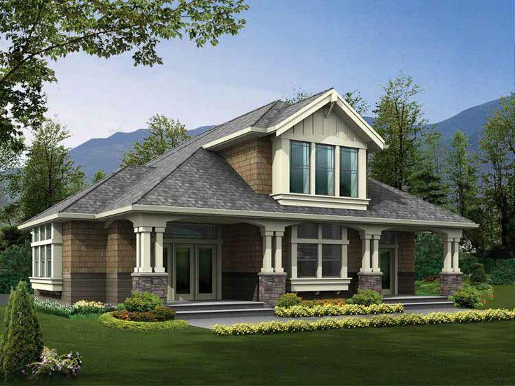 Single Story Craftsman House Plans