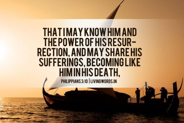 Image result for Philippians 3:10,11