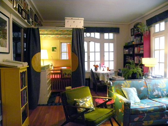 Nursery In The Living Room An San Francisco 1 Bedroom Apt Who Says You