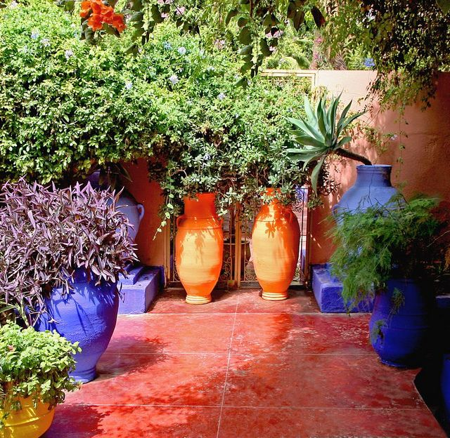 197 best images about Mexican Courtyards & Gardens on ... on Mexican Patio Ideas  id=51290