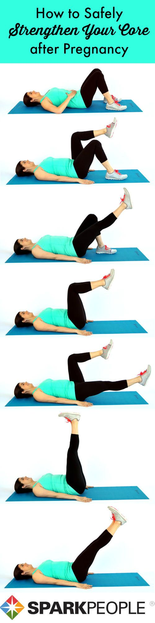 Get your abs back in shape