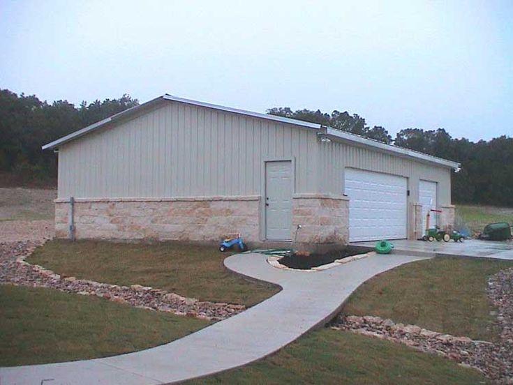 Texas Steel Garage Back To Metal