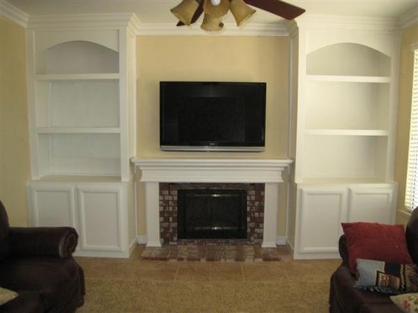 Building A Corner Fireplace Cabinet